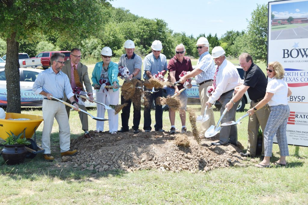 Board breaking ground on industrial tech center